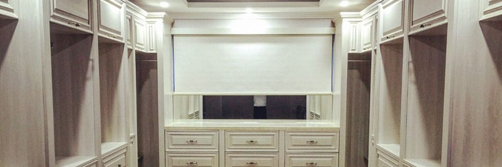 Blockout White Cassette Roller Blind