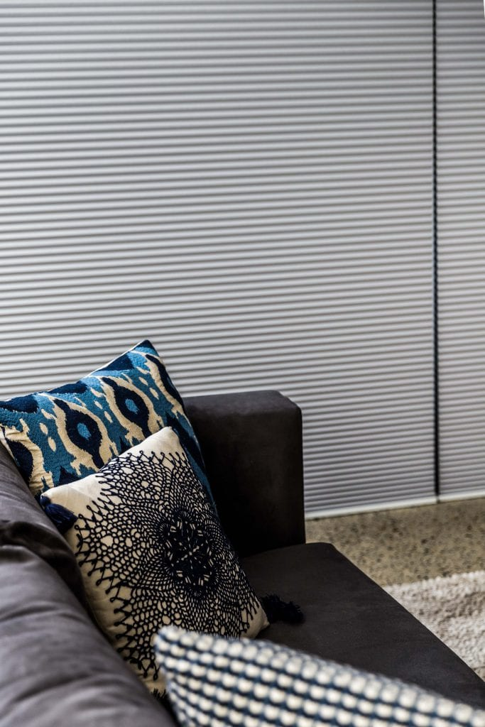 SmartCell Cellular Blinds Pewter